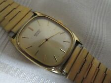 Vintage SEIKO Quartz Gold Men's Watch 74305319 3D0485