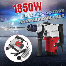 Max 1850W Demolition Hammer Rotary Jack 4 in1 Electric Jackhammer Plus Drill