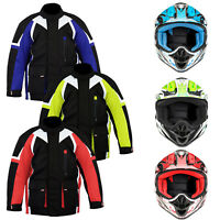New ProFirst Children Motorbike Motorcycle Jacket Kids Clothing motocross Helmet