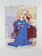 """Romeo & Juliet"" By Russel Barrer Artist Proof lithograph On Paper"