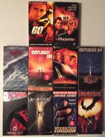 (Lot #12) 10 Classic VHS / VCR Tapes - Action/ Adventure/ Fantasy NOT DVD MOVIES