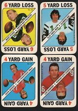 1971 Topps  Football Game Card Bart Starr Joe Namath John Brodie Len Dawson QBs