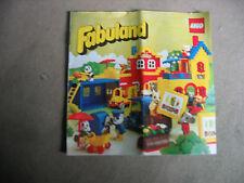 Lego Fabuland  Katalog von 1981  13,5x13,5 cm