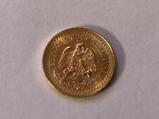 1945 Gold Mexican 2.5 Peso Uncirculated Mexico Gold Dos y Medio Pesos
