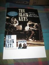 THE BLACK KEYS-(live at the crystal ballroom)-11X17 POSTER-NMINT-RARE