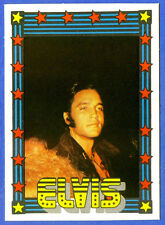 1978 Monty Gum ELVIS PRESLEY card from Holland (blank back)                    c