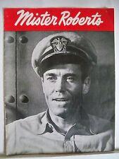 MISTER ROBERTS Souvenir Program HENRY FONDA / HENRY HULL / MURRAY HAMILTON 1949
