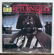 STAR WAR ROJ Read Along Book & RPM Record- SEALED!