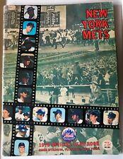 LOT OF 5 NEW YORK METS YEARBOOKS - 1970, 1971 (Rev), 1975, 1976, 1977 (Rev)