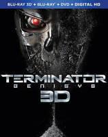 Terminator Genisys (Blu-ray/DVD, 2015, 3D) No Digital **READ**