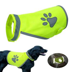 High Visibility Pet Hi Vis Coat Pet Reflective Vest Pet Safety Vest Dog Jacket