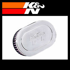 K&N RC-1980 Air Filter - Universal Chrome Filter - K and N Part
