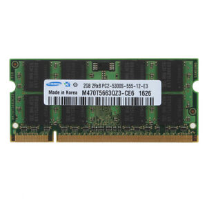 For Samsung 1GB 2GB 4GB DDR2 DDR3 PC2-5300 6400 PC3-8500 Laptop Memory RAM Lot