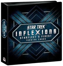 Rittenhouse 2019 Star Trek Inflexions 3 Ring Trading Card Binder Album w/ Promo
