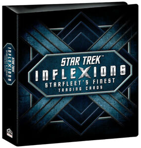 Rittenhouse 2019 Star Trek Inflexions 3 Ring Trading Card Binder Album w/ Promo