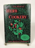 The Book of Herb Cookery 1957 Recipes Irene Hoffman Revised Enlarged Hardcover