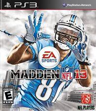 Madden NFL 13 (Sony PlayStation 3, 2012)