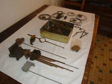 A saisir : Carillon, nombreuses pièces d'horlogerie mécanique. odo et autres.