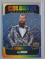 2019-20 Upper Deck Credentials Colorful Characters CC-2 Brent Burns San Jose