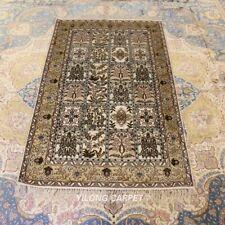 Yilong 3'x5' Four Seasons Carpet Living Room Hand Craft Silk Rugs 231B