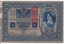 AUSTRIA, 1000 KRONEN, 1902