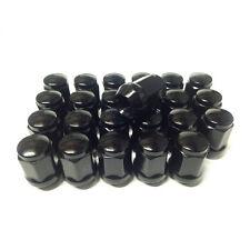 MITSUBISHI PAJERO BLACK WHEEL LUG NUTS X 24