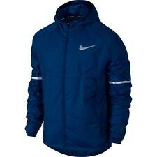 Nike Men's Shield Essential Hooded Running Jacket Blue Jay Size M 857856-433