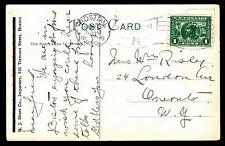 1913 SALVATION ARMY PEOPLES PALACE - BOSTON, MA - U.S. #397 FRANKING (ESP#3323)