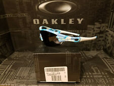 Oakley Radar bright blue night camo w/ gray BNIB