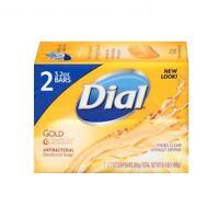 Dial Antibacterial Deodorant Bar Soap, Gold 4 oz (Pack of 2)