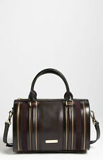 NWT Burberry Leather & Suede Bowling Bag