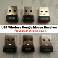 1* USB-Mausempfängeradapter für Logitech G403 G603 G703 G900 G903 Wireless Mouse