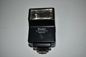 ^^ VIVITAR AUTO THYRISTOR 2600-D FLASH (RB10)