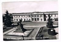 busto arsizio piazza stazione FFSS corriera filobus d' epoca spedita  1952