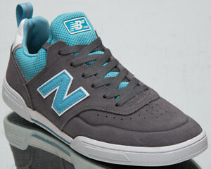New Balance Numeric 288 Men's Grey Blue White Low Skate Lifestyle Sneakers Shoes