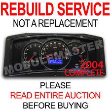 Rebuild Repair of 00 01 02 03 04 05 RV Workhorse Actia Cluster Display LCD Gauge