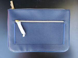 Estee Lauder  Cosmetic Makeup Bag in Dark Blue