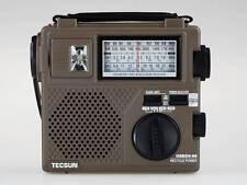 TECSUN GREEN-88 FM/AM/SW Hand Crank Rechargeable Dynamo Portable Radio Receiver