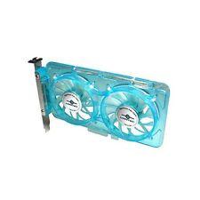Vantec Spectrum Fan Card with Dual 70mm Adjustable UV LED Fans SP-FC70-BL