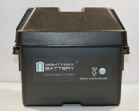 Mighty Max 12v 18ah Battery For Mighty Mule Fm350