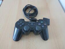 Sony Ps2 Mando Oficial Dual Shock Negro PLAYSTATION 2 con Cable