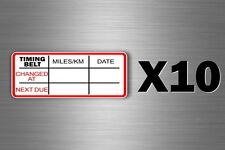 10x oil next service due reminder car truck filter maintenance garage oil change