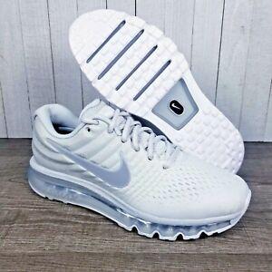 Nike Air Max 2017 Running Shoe Platinum White Grey 849560-009 W11.5 / Mens Sz 10