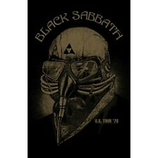 BLACK SABBATH premium fabric poster U.S. TOUR