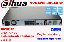 DAHUA NVR4208-8P-4KS2 NVR 8CH WITH 8 PORT POE(without HardDrive) Video Recorder