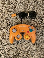 Nintendo Orange Spice Official Gamecube Controller OEM DOL-003 TESTED - READ!