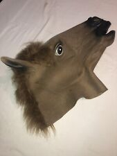 Rubber Horse Head Costume Halloween Costumes