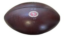 49ers 2018 Game Used NFL Wilson Football