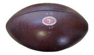 49ers 2018 Game Used NFL Wilson Football