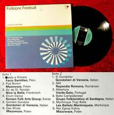 LP FOLKLORE Festival Olimpiadi 1972 Monaco (Metronome MLP 15432) D